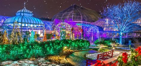 christmas lights pittsburgh 2017 winter flower show and light garden holiday magic