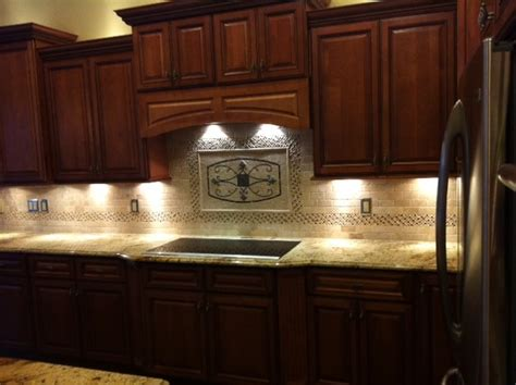 maicon backsplash wall medallions traditional kitchen ta by great britain tile