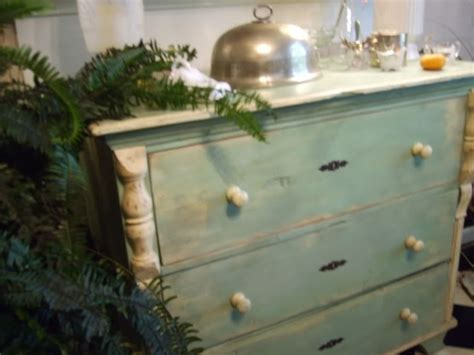 Seafoam Green Dresser by Seafoam Green With Beige Painted Furniture