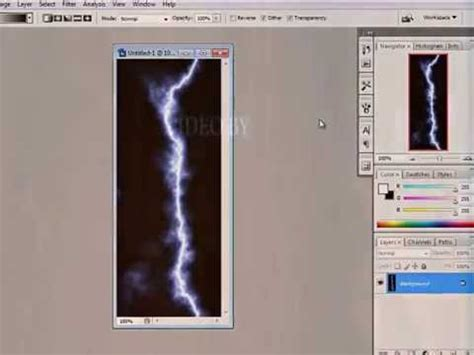 cara membuat alis dengan photoshop cs3 cara membuat efek petir di photoshop cs3 youtube