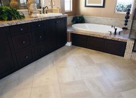 floors make room look smaller how should i tile my small bathroom