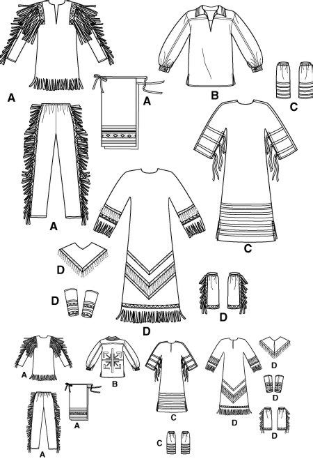 shirt pattern making in hindi native american pow wow indian costume frontier pattern