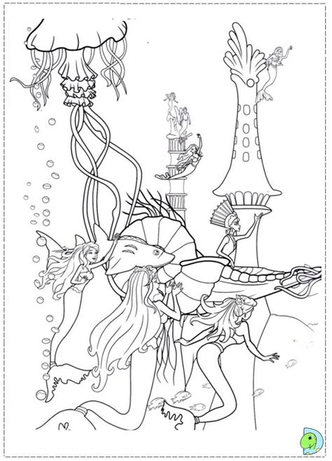 free coloring pages barbie mermaid barbie mermaid coloring page az coloring pages