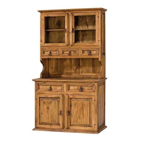 vitrina rustica de madera de pino macizo de primera calidad