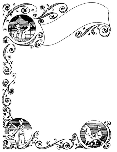 fancy writing paper templates fancy writing paper cliparts co