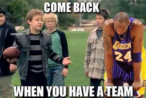 Laker Hater Memes - lakers are reportedly ready to shut down kobe for the rest