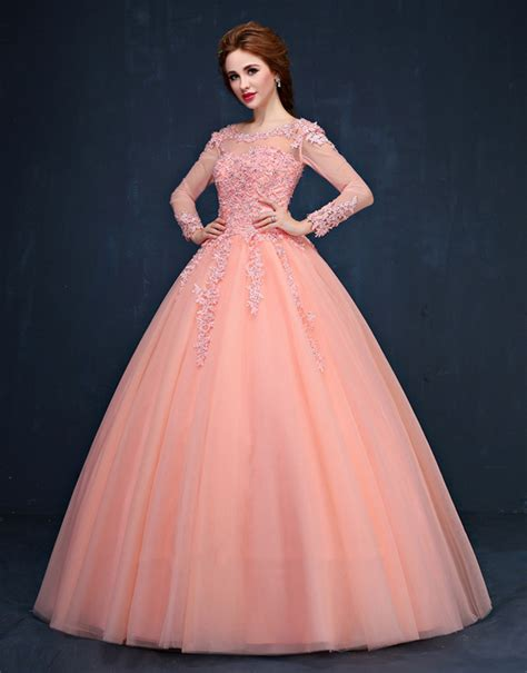 Colourful Wedding Gowns by Sleeve Colourful Lace Gown