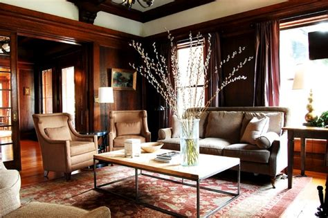 traditional home interiors living rooms my houzz early 1900s home blends traditional design with