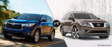 Toyota Highlander Vs 2016 Toyota Highlander Vs 2016 Nissan Pathfinder