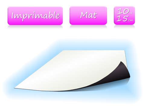 10 x 15 mat papier magn 233 tique imprimable blanc mat format 10x15 cm