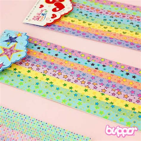 Neon Origami Paper - buy neon colours lucky origami paper set free