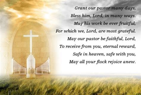 Grant our pastor a shepherd's heart, Help each of us to do