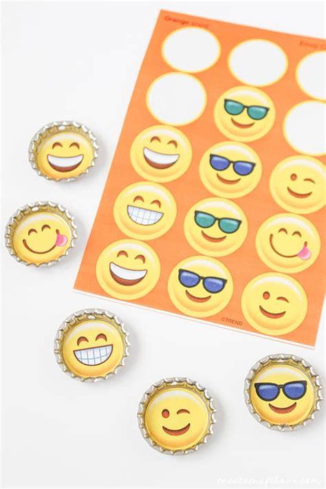 drink emoji diy emoji drink tags create craft