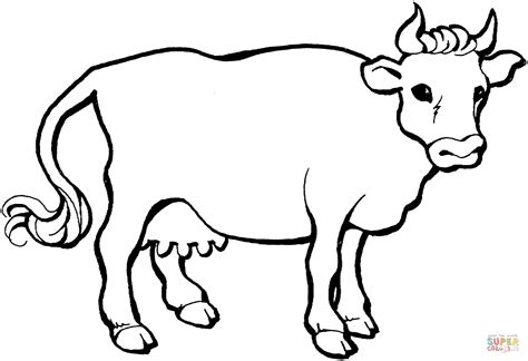 coloring pages cows free printable cow 21 coloring page free printable coloring pages