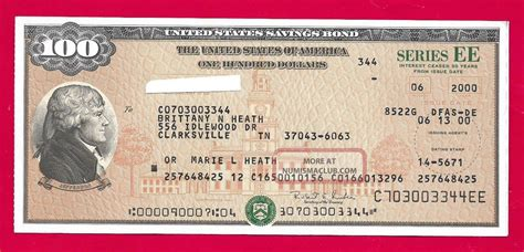 where to get savings bonds us savings bond uncanceled 100 00 savings bond series ee