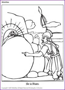 he is risen coloring page coloring jesus is risen korner biblewise