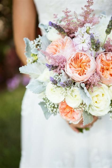 Garden Wedding Flowers Garden Roses Bouquet