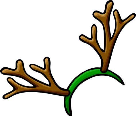 deer antler clip hat antlers clipart