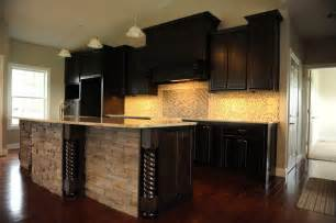 Custom Contemporary Kitchen Cabinets by Dark Amp Dramatic Contemporary Kitchen St Louis By