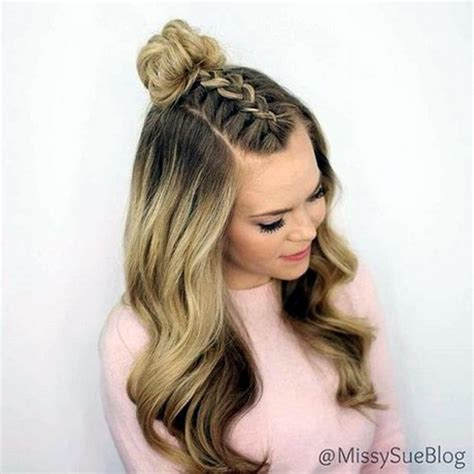 best easy and quick hairstyles cute quick and easy hairstyles
