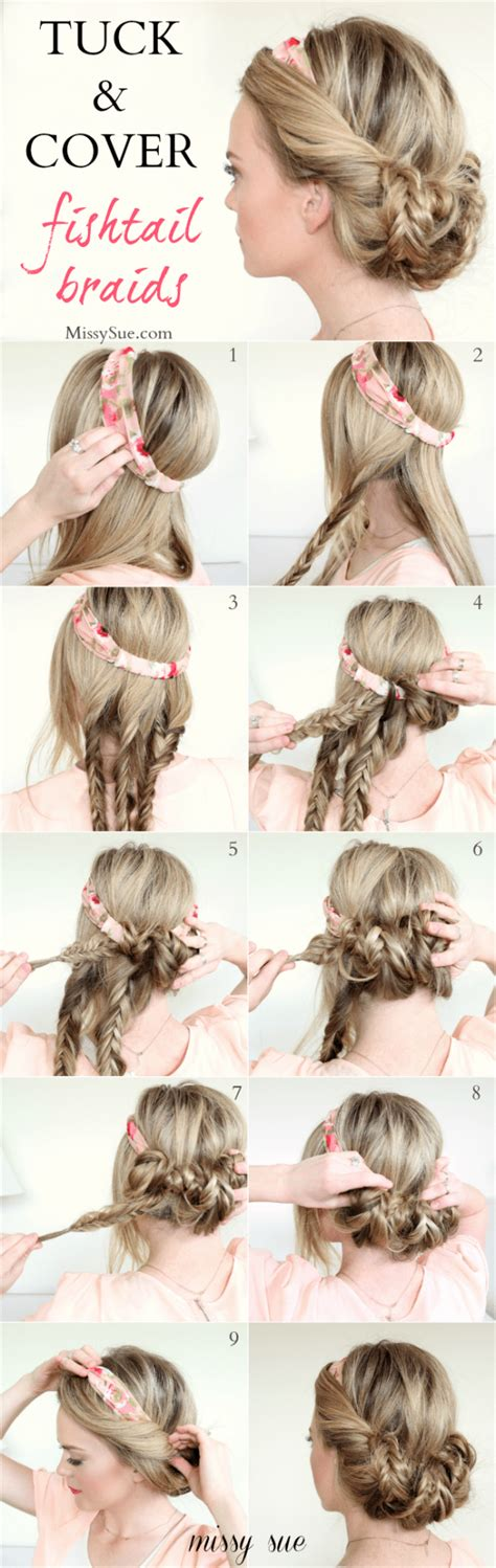 35 diy hairstyle tutorials with pictures fashion 14 breathtaking diy hairstyle tutorials for your new
