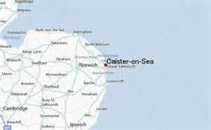 on map of caister on sea location guide