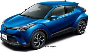 toyota car colors new toyota c hr hybrid colors photo exterior chr