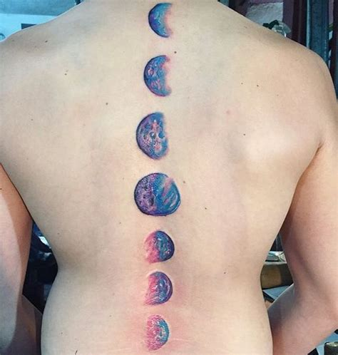 50 Moon Tattoo Crescent Moon And Sun And Stars Tattoo 2018 Tattoos Of The Moon And