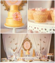 kara s ideas pink gold baby shower