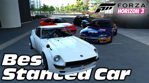 stanced cars forza horizon 3 forza horizon 3 best stanced car challenge build mini
