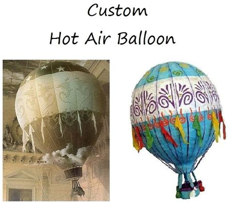 How To Make A Paper Air Balloon - handmade custom air balloons by melanie mercado