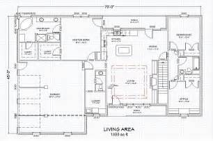 ranch floor plans with walkout basement traditional brick ranch home plan single level ranch home