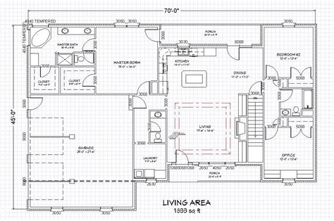 House Plans Ranch With Basement by Traditional Brick Ranch Home Plan Single Level Ranch Home