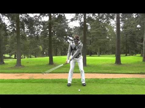 bad swinging experience ian poulter swing sequence youtube