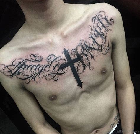 59 good looking cross tattoos designs for chest 59 good looking cross tattoos designs for chest