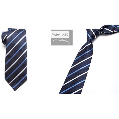 Dasi List Tie Dasi Kantor Formal Pria Silk Tie Blue