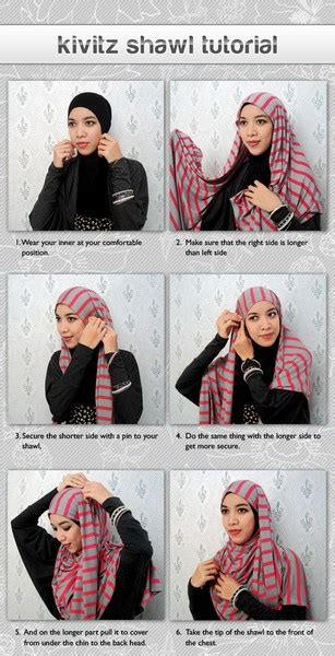 Kanaya Jilbab By Nadine Scarf 71 best images about styles for only on simple tutorial how to
