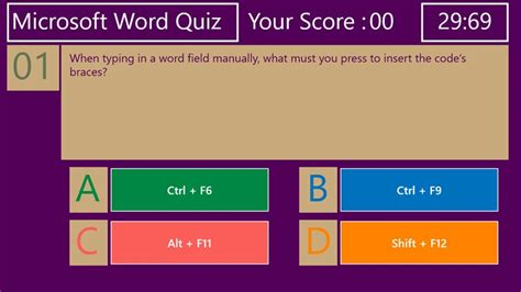 quiz questions ppt microsoft word quiz for windows 8 and 8 1