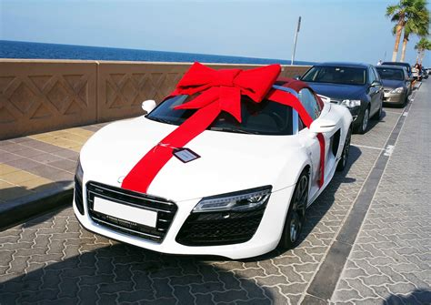Audi R8 First Year by Yasmin S 17th Birthday Surprise Audi R8 V10 Spyder