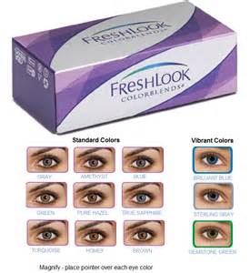fresh look colorblends colors lowest discount prices on contacts best price freshlook