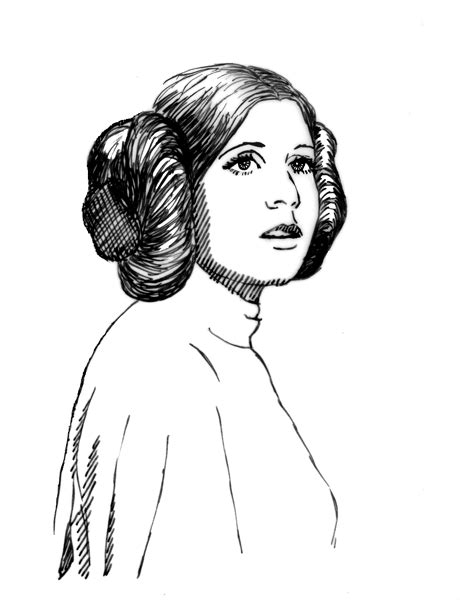 princess leia coloring pages lost arts wars revisited