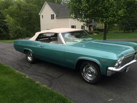 1965 impala ss 396 for sale 1965 impala ss convertable 4 speed 396 for sale