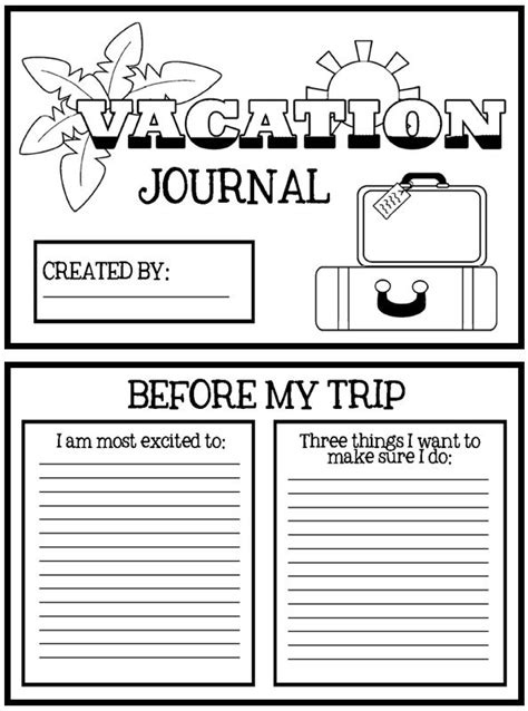 printable road trip journal 5 tips for the best summer road trip half crazy mama