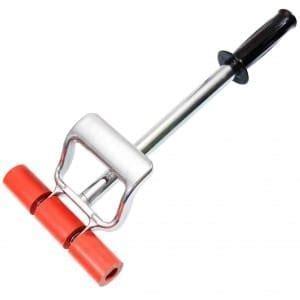 Buy Floor welding hand feed brass roller solid with wooden