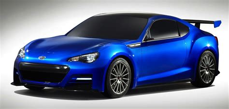 subaru sports car brz subaru brz sti enhanced japanese sports car teased