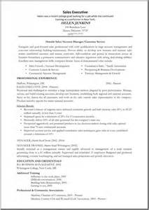 Sales Executive Resume Examples Sales Executive Resume Template Great Resume Templates