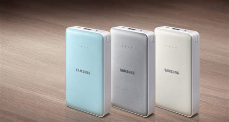 Umum Power Bank Samsung samsung genuine power bank original 8 400mah biru