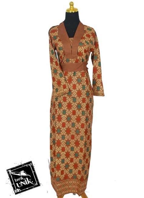 Gamis Obi Motif Unik baju batik gamis katun motif songket etnik tumpal gamis