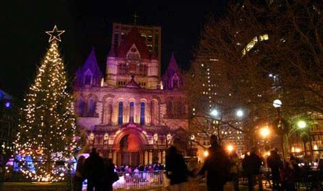 boston mass xmas tree lightging best places to see lights in boston weekendpick