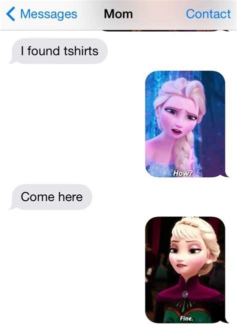 disney frozen funny texts disney fun pinterest funny